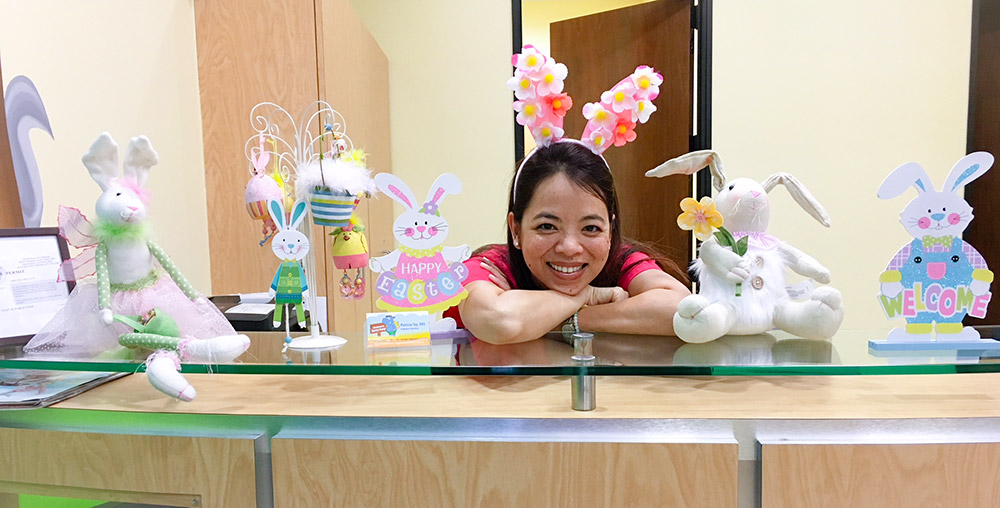 Welcome spring! - Children's Dental Camp