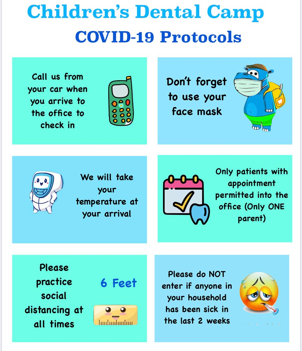 Childrens Dental Camp Covid-19 Protocols